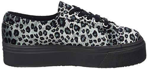 Femme Animal 2790 Grau Velvetw Superga leopard black Basses Grey EpFIaq