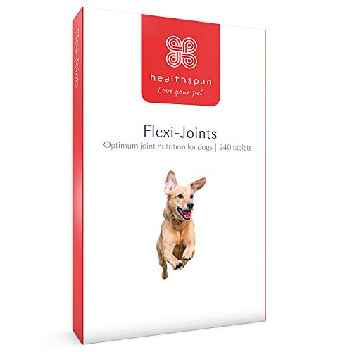 Healthspan Flexi-Joints For Dogs Containing Glucosamine & Chondroitin | Vitamins C & E | Beef Flavoured | Pet Health…