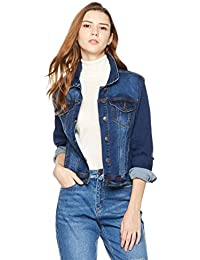 Womens Denim Stretch Classic Long Sleeves Jacket