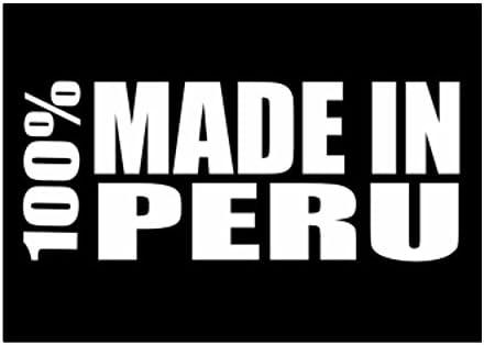 Teeburon 100 Made in Peru Pack de Pegatinas x4: Amazon.es: Hogar