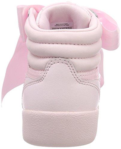 Reebok Mädchen Cn2026 Gymnastikschuhe Pink (Porcelain Pinkskull Grey)