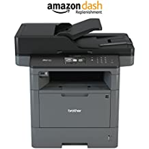 Brother MFC-L5900DW Monochrome All-in-One Laser Printer, Wireless Duplex Printing, Scanning, Amazon Dash Replenishment Enabled