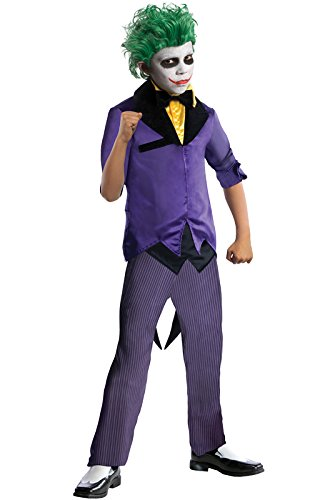 Rubies DC Super Villains The Joker Costume, Child Medium (Girl Joker Halloween Costume)