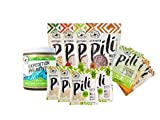 Pili Hunters Ultimate Variety Pack, Pili Nuts and Pili Nut Butter, Paleo, Keto, Vegan, Low Carb – Includes 11 Items