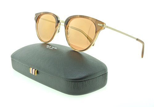 Paul Smith Sunglasses PM 8253S Jaron 1538/7T Beachwood / Peach Gold - Womens Paul Sunglasses Smith