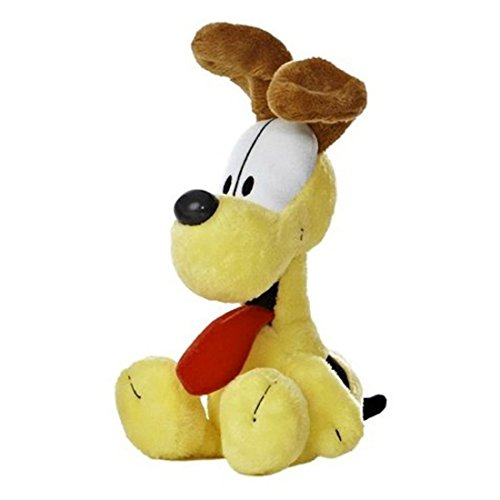 Official Garfield Odie Soft Plush Toy 7'' Cute Dog Super Soft by unbrand