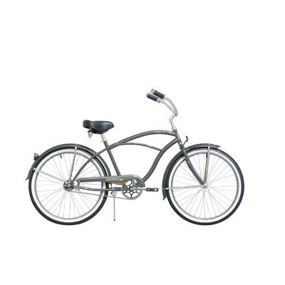 Men's Tahiti Cruiser Bike Color: Gray