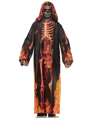 Underwraps Big Boy's Underwraps Boy's Underworld Evil Costume - Large Childrens Costume, Multi, Large (Last Minute Halloween Costume Ideas For Kids)