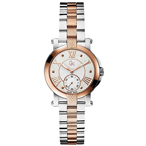 Guess Collection Gc Demoiselle X50003L1S 31mm Multicolor Steel Bracelet & Case Anti-Reflective Sapphire Women's Watch