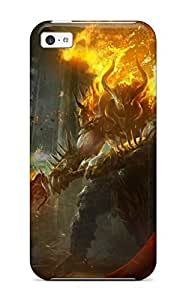High Impact Dirt/shock Proof Case Cover For Iphone 5c (lords Of The Fallen )