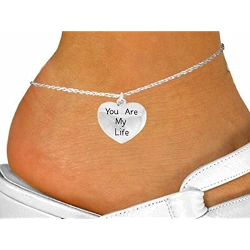 """You Are My Life"" Anklet"