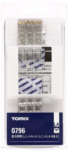 TOMIX Nゲージ 室内照明ユニット セット 0755×6 0796 鉄道模型用品