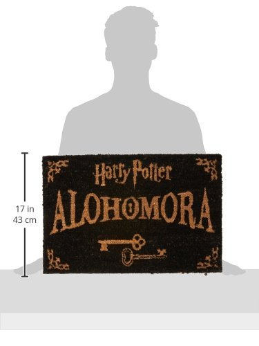 Amazon.com: Harry Potter alohomora Felpudo – 100% Fibra de ...