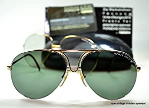 CARRERA PORSCHE DESIGN 80's Vintage 5657 40 Sunglasses AVIATOR 60-15