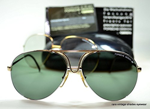 CARRERA PORSCHE DESIGN 80's Vintage 5657 40 Sunglasses AVIATOR - Legendary Sunglasses