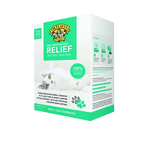 对于出售 Precious Cat Respiratory Relief Litter with Herbal Essences,