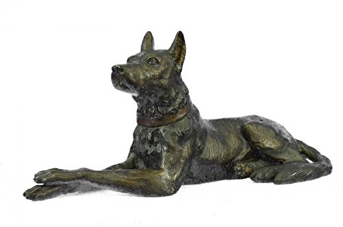 Collectible Basenji Dog Bronze Sculpture