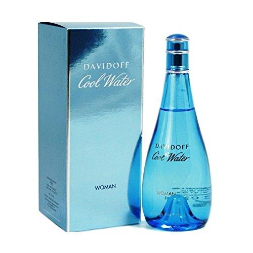 DAVIDOFF Women's Cool Water Eau de Toilette Spray For Woman. EDT 3.4 Fl Oz, 100 ML