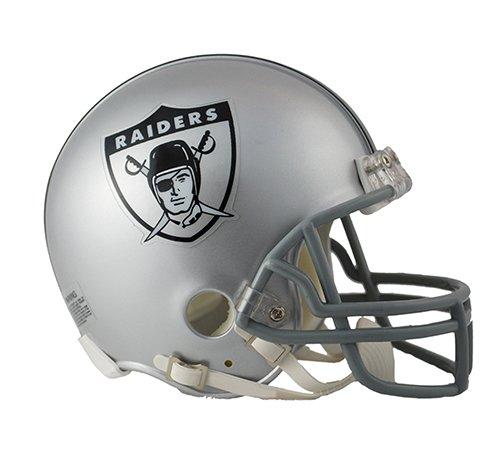 (Oakland Raiders 1963 Throwback NFL Riddell Replica Mini)