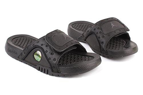 Nike Jordan Jeunesse Hydro Xiii Diapositives Rétro Sandales-noir Noir / Anthracite