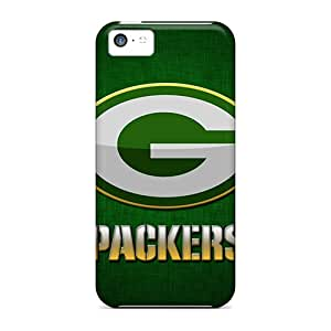 JasonPelletier Iphone 5c Scratch Resistant Hard Cell-phone Case Support Personal Customs HD Green Bay Packers Pattern [Omi19883fqtm]