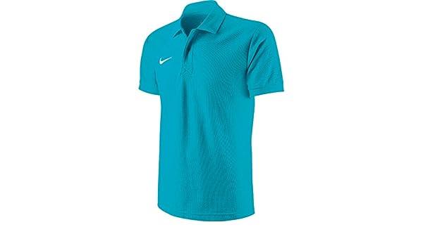 ea2399d40 New ropa de equipo para hombre Nike de manga corta para campeones de la Core  de punto de cruz Ts Polo T-camiseta de manga corta: Amazon.es: Ropa y ...