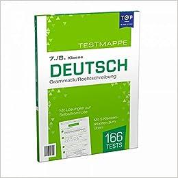 Testmappe Deutsch Grammatik Rechtschreibung 7 8 Klasse Amazon De Ullmannmedien Ullmannmedien Bucher