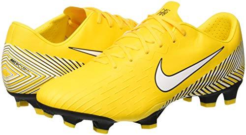 12 Adulto Njr Zapatillas 710 Fútbol Amarillo Pro Fg amarillo Vapor black white De Unisex Nike qCz5n