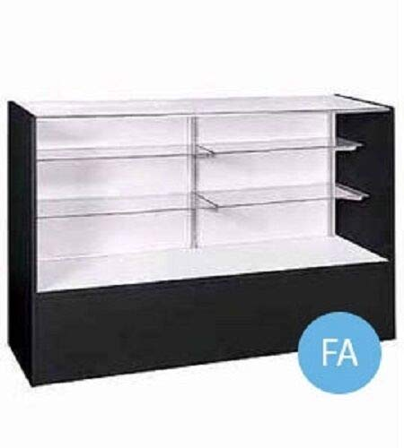 """Buy All Store Display Case Full Vision Retail Merchandise Glass Melamine 38"""" H x 18"""" x 48"""""""
