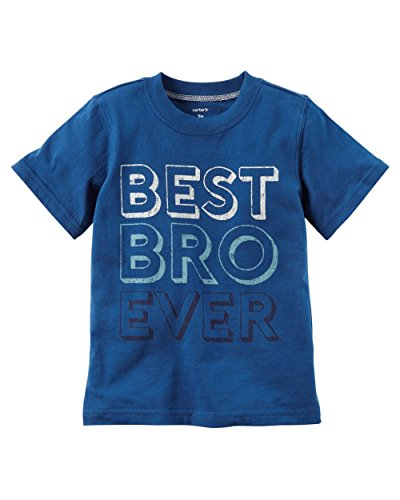 Carters Toddler Boys Best Bro Ever T-Shirt 2T Blue
