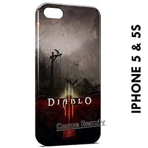 Carcasa Funda iPhone 5/5S Diablo 3 Protectora Case Cover