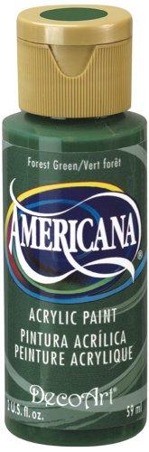 DecoArt Americana Acrylic Paint, 2-Ounce, Forest - Stores Street Market Texas
