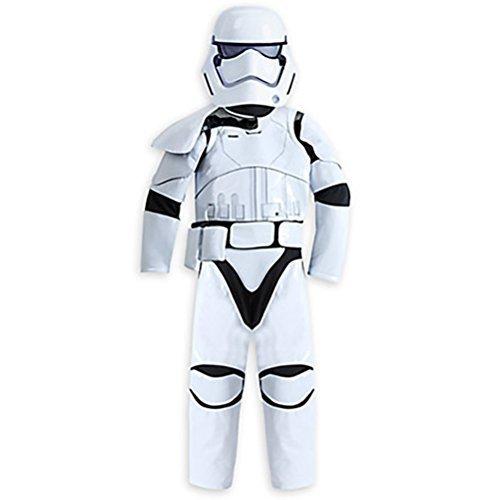 Disney Boys Star Wars The Force Awakens Deluxe Stormtrooper Costume Size (Stormtrooper Force Awakens Costume)