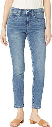 Nicole Miller New York Women's Soho High-Rise Ankle Skinny Light Blue 2 26.5