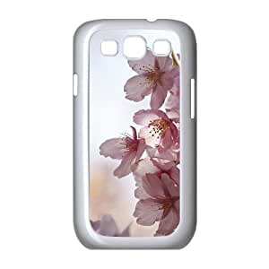Beautiful cherry blossoms Unique Design Cover Case with Hard Shell Protection for Samsung Galaxy S3 I9300 Case lxa#473702