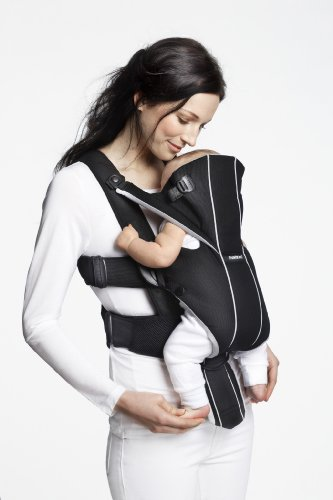 9fe9f5ca425 Amazon.com   BABYBJORN Baby Carrier Miracle - Black Silver