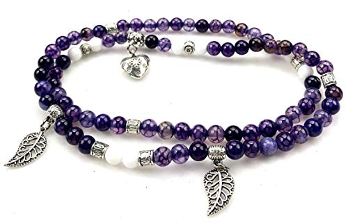 PURPLE WHALE Fashion Jewelry Beautiful Gemstone necklace/bracelets with charms -promote healing and energy