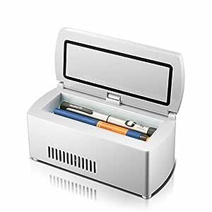 GBT Caja portátil refrigerada de insulina portátil Mini Droga ...
