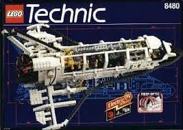 LEGO 8480 Technic - Lanzadera espacial