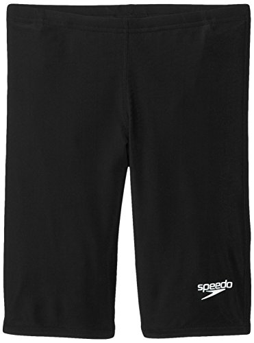 Speedo Big Boys' Pro LT Youth Jammer Swimsuit, Black, (Speedo Boys Swimsuit)