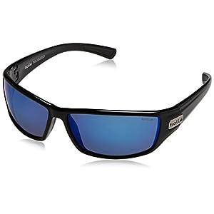 Bolle Python Sunglasses, Shiny Black, Polarized TNS oleo AF