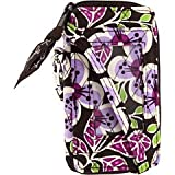 Vera Bradley All in One Wristlet (Plum Petals), Bags Central