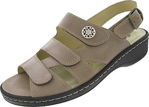 Hickersberger Kräuterschuhe - Sandalias de vestir para mujer Beige - naturaleza