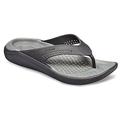 Crocs Mens and Womens LiteRide Flip, Casual Sandal with Extraordinary Comfort Technology