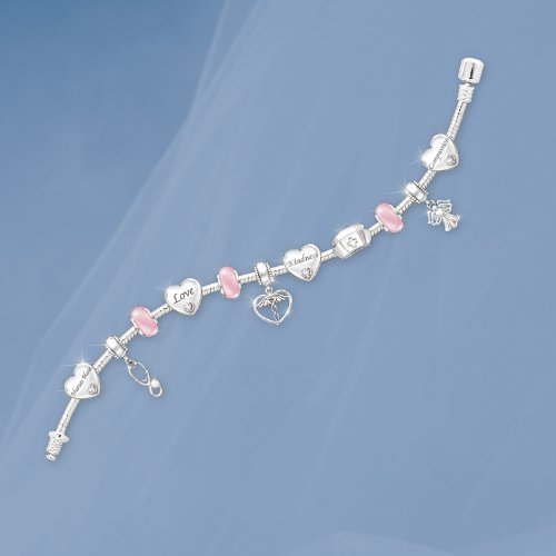 A Nurse's Heart Charm Bracelet by The Bradford Exchange by Bradford Exchange (Image #1)