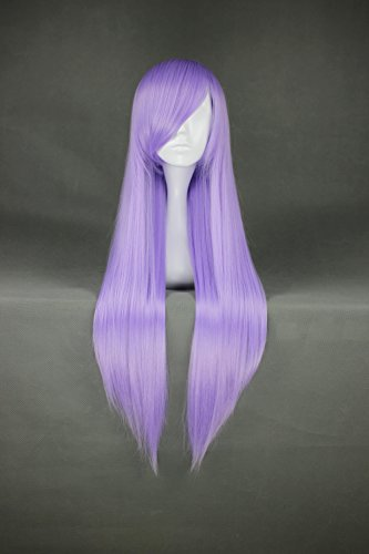 Long Straight Lavender Anime Wig