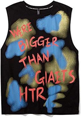 タンクトップ メンズ ノースリーブ おおきいサイズ ストリート系ファッション 春夏 ダンス 衣装 韓国 HIPHOP B系 アメカジ レディース カジュアル 流行 トレンド ロゴ