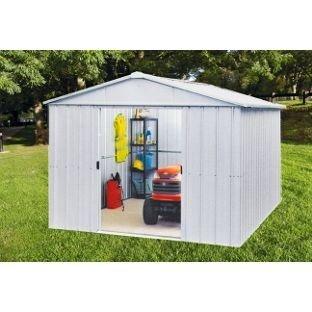 Yardmaster Apex Metal caseta de jardín - 10 x 10 pies.: Amazon.es: Jardín
