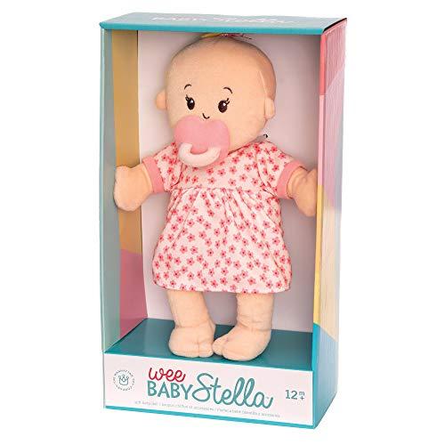 """41ZI1uxzLfL - Manhattan Toy Wee Baby Stella Peach 12"""" Soft Baby Doll"""