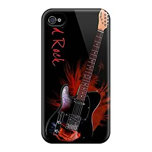 RudyPugh Iphone 4/4s Shock Absorption Hard Phone Cases Allow Personal Design High Resolution Avenged Sevenfold Image [Nxe3272VObi]